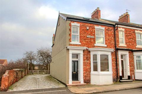 3 bedroom end of terrace house for sale - Station Road, Norton