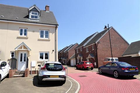 4 bedroom end of terrace house for sale - Ffordd Y Grug, Coity, Bridgend, Bridgend County. CF35 6BQ