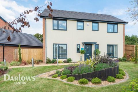 4 bedroom detached house for sale - Caerwent Gardens, Dinas Powys