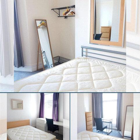3 bedroom flat to rent - 46 Gwydr Crescent - Top Flat