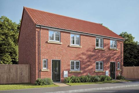 3 bedroom semi-detached house for sale - Plot 107, The Eveleigh at Ferriby Rise, Fenwick Road, Scartho Top, Grimsby DN33