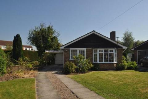 3 bedroom detached bungalow to rent - Southfield Close, Rufforth, York , North Yorkshire, YO23 3RE