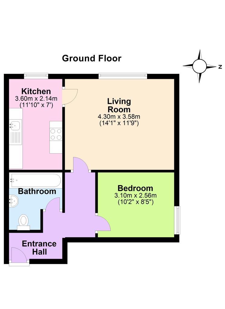 Floorplan: Ground Floor Plan