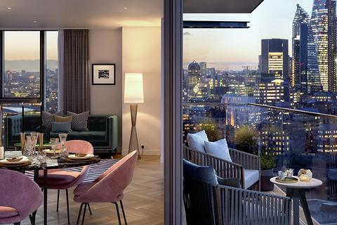 3 bedroom apartment for sale - Plot 0587 at London Dock, 9 Arrival Square, Wapping E1W