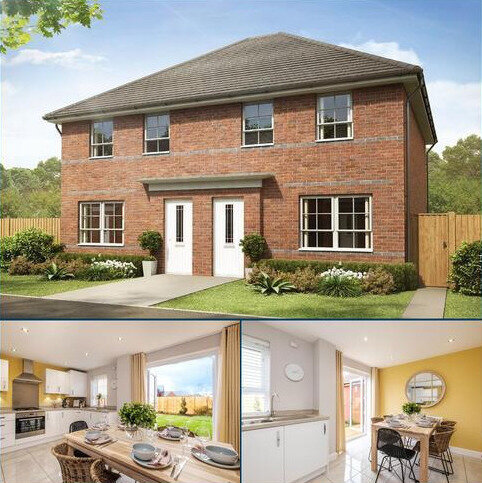3 bedroom end of terrace house for sale - Plot 141, Maidstone at Holly Blue Meadows, Ruston Road, Burntwood, BURNTWOOD WS7