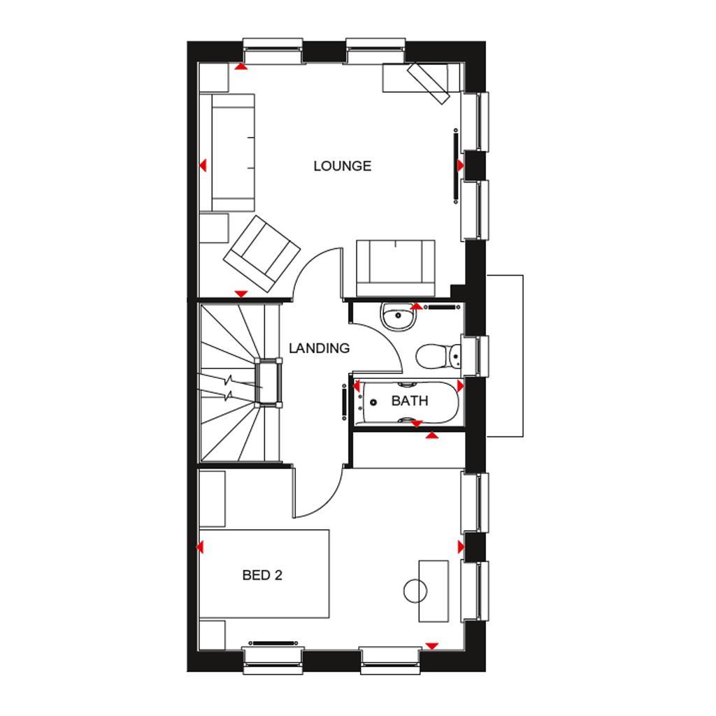 Floorplan 2 of 3: H7061 bbnfff