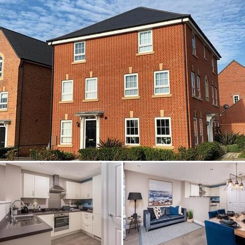 4 bedroom semi-detached house for sale - Plot 154, Haversham at Newton's Place, Penrhyn Way, Grantham, GRANTHAM NG31