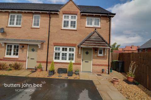 3 bedroom end of terrace house for sale - Pimlotts Grove, Northwich