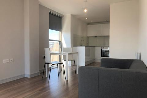 Studio to rent - Studio Apartment at Block E, One Wolstenholme Square, 2 Slater Place, Liverpool, Merseyside, L1