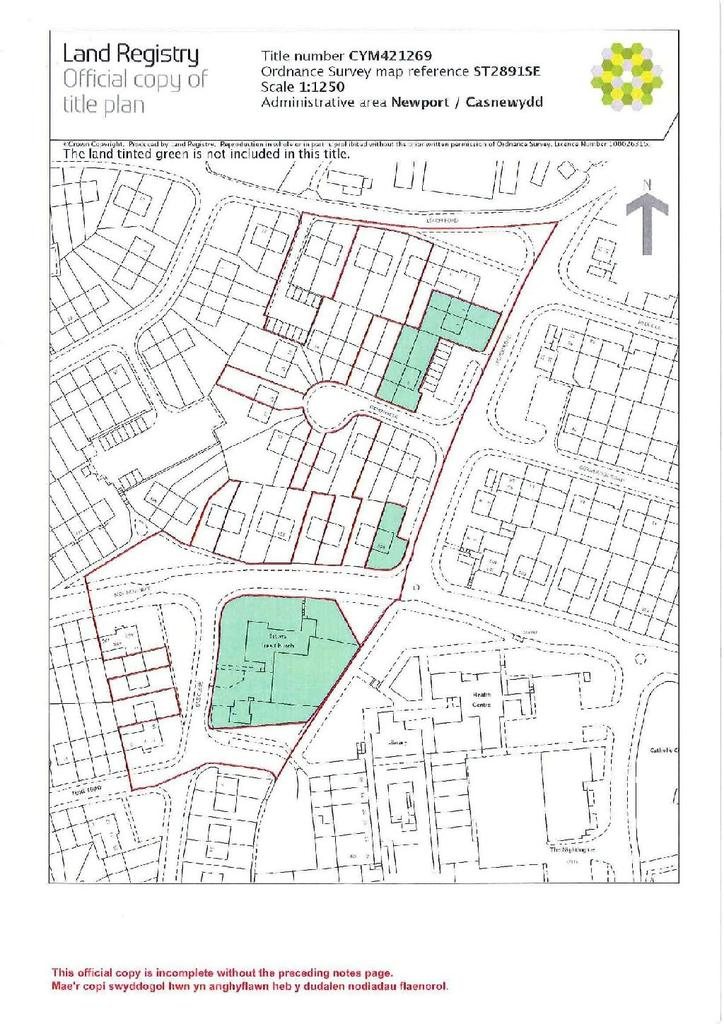 Land Commercial for sale in Tone Close, Bettws, Newport