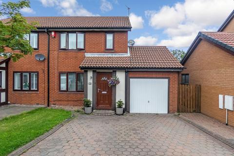 3 bedroom semi-detached house for sale - Mitchell Drive, ashington, Ashington, Northumberland, NE63 9JT