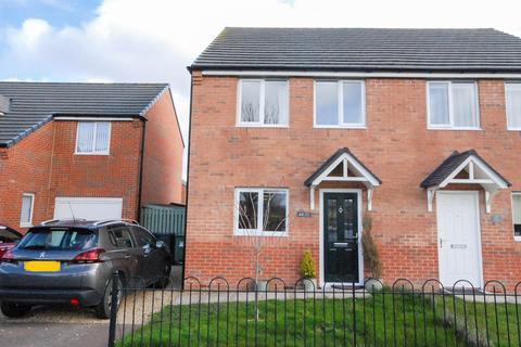 3 bedroom semi-detached house for sale - Oak Street, Jarrow