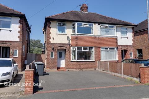 3 bedroom semi-detached house for sale - Newfield Drive, Crewe
