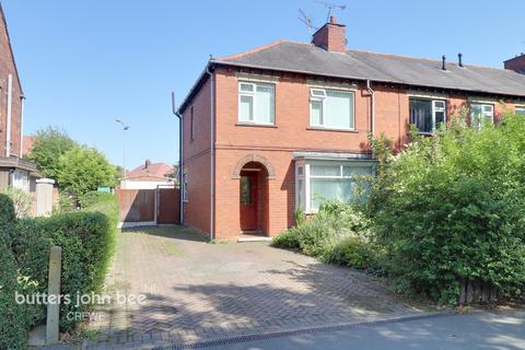 3 bedroom end of terrace house for sale - Frank Webb Avenue, Crewe
