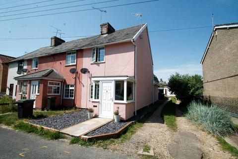 2 bedroom end of terrace house for sale - Takers Lane, Stowmarket, IP14