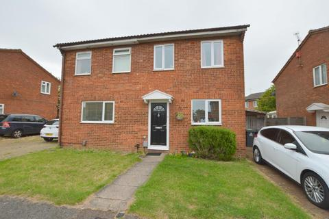 2 bedroom semi-detached house for sale - Tanfield Green, Wigmore, Luton, Bedfordshire, LU2 9UE