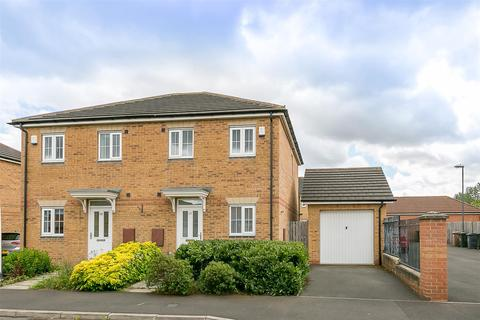 2 bedroom semi-detached house for sale - Kingsbury Court, Longbenton, Newcastle upon Tyne
