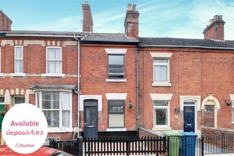 2 bedroom terraced house to rent - Peel Terrace, Stafford ST16