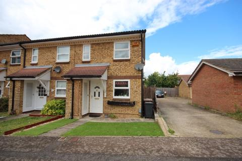 2 bedroom end of terrace house for sale - 2 Bed with cloakroom and GARAGE