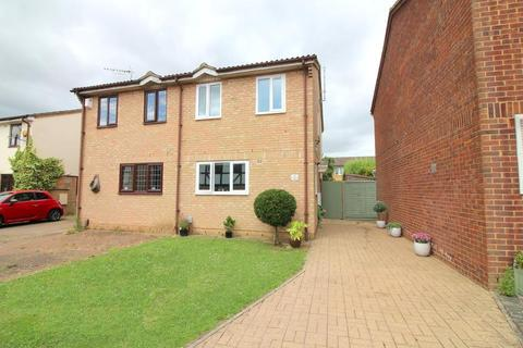 2 bedroom semi-detached house for sale - Corbridge Drive, Luton, Bedfordshire, LU2 9UH
