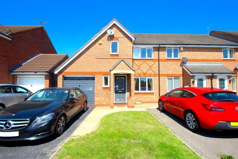 3 bedroom end of terrace house for sale - Darien Way, Thorpe Astley