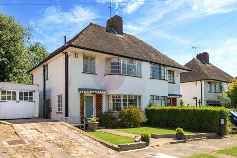 3 bedroom semi-detached house for sale - Howard Walk, Hampstead  Garden Suburb, London, N2