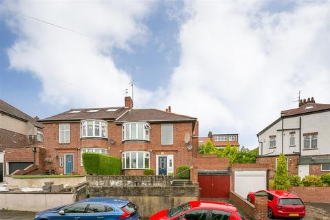 3 bedroom semi-detached house for sale - Keyes Gardens, High West Jesmond, Newcastle upon Tyne
