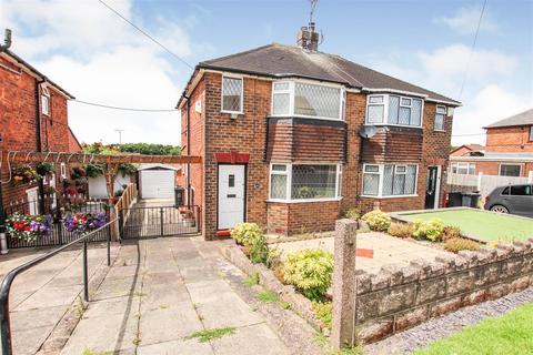2 bedroom semi-detached house for sale - Riceyman Road, Bradwell, Newcastle, Staffs
