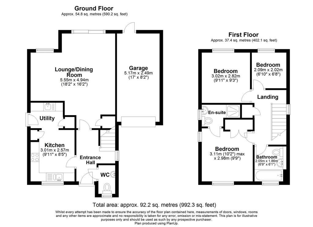 Floorplan: 3 Badgers Den. Floor Plan.JPG