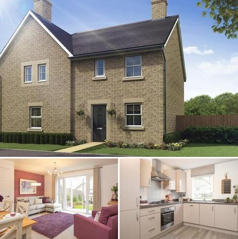 3 bedroom semi-detached house for sale - Plot 235, Folkesbridge at High Peak Meadow, Burlow Road, Buxton, BUXTON SK17