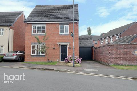 3 bedroom detached house for sale - Girton Way, Mickleover