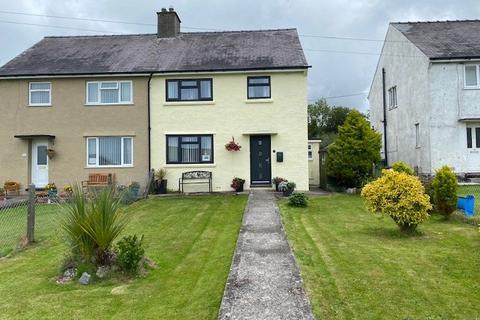 3 bedroom semi-detached house for sale - Bro Wyled, Rhostryfan, Caernarfon, Gwynedd, LL54