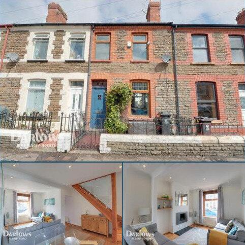2 bedroom terraced house for sale - Keppoch Street, Cardiff