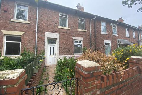 3 bedroom terraced house for sale - Wadham Terrace, West Harton, South Shields, Tyne and Wear, NE34 0BU