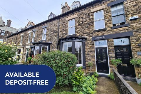 4 bedroom terraced house to rent - Grove Road, Harrogate, HG1 5EP