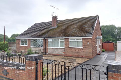 2 bedroom semi-detached bungalow for sale - Grange Close, Crewe