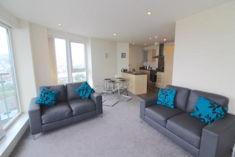 2 bedroom apartment to rent - MERIDIAN TOWER 14TH FLOOR