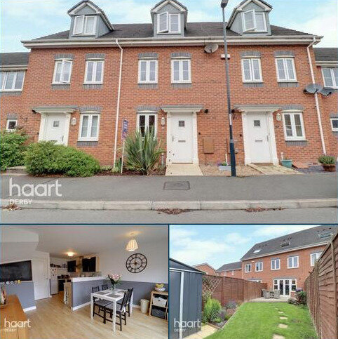 3 bedroom townhouse for sale - Panama Circle, Derby