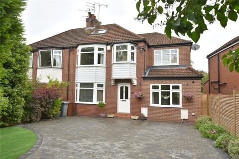 5 bedroom semi-detached house for sale - North Park Avenue, Roundhay, Leeds