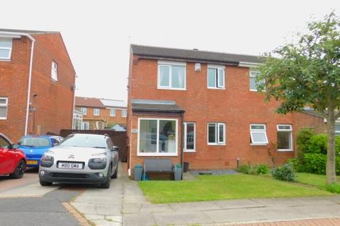 3 bedroom semi-detached house for sale - BROUGHAM COURT, PETERLEE, OAKERSIDE, PETERLEE
