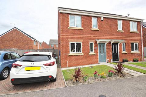 3 bedroom semi-detached house for sale - Prince Charles Avenue, Bowburn, Durham