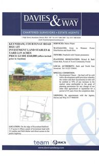 Land for sale - Courtenay Road, Keynsham, Bristol