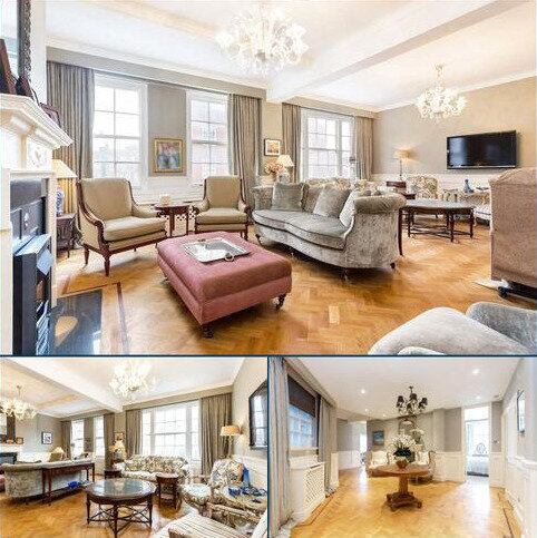 3 bedroom flat for sale - Bryanston Court, George Street, Marylebone, London, W1H