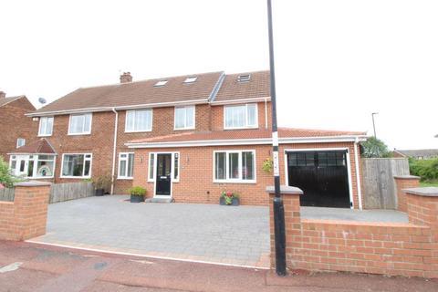 5 bedroom semi-detached house for sale - Brookvale Avenue, Gosforth, Newcastle Upon Tyne