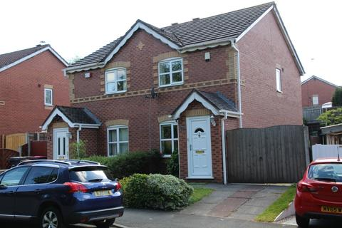 2 bedroom semi-detached house to rent - Brindle Heath Road,  Salford, M6