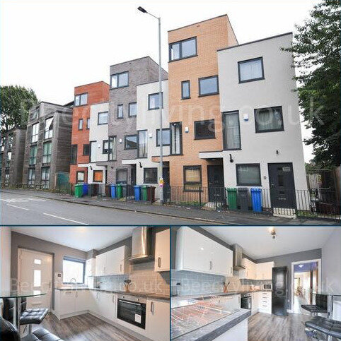 4 bedroom townhouse to rent - 4 Bed townhouse – Hulme