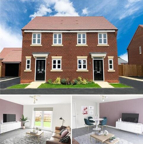 2 bedroom semi-detached house for sale - Plot 87, Beckford at Miller Homes @ Myton Green, Europa Way, Warwick CV34