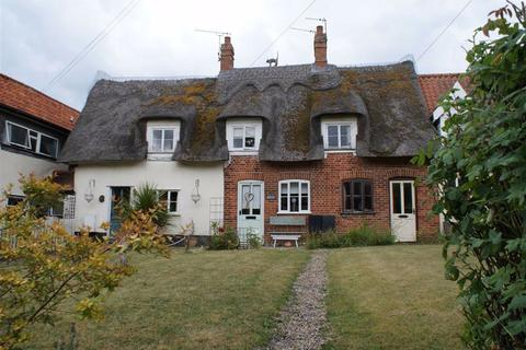 2 bedroom cottage for sale - Thatched Cottages, Norwich Road, Dickleburgh, Norfolk