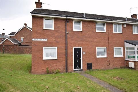 3 bedroom end of terrace house for sale - Chichester Road, South Shields