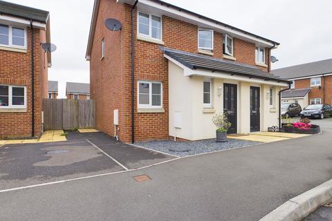 2 bedroom semi-detached house to rent - Morris Drive, Brunel Wood, Swansea, SA1 7EG